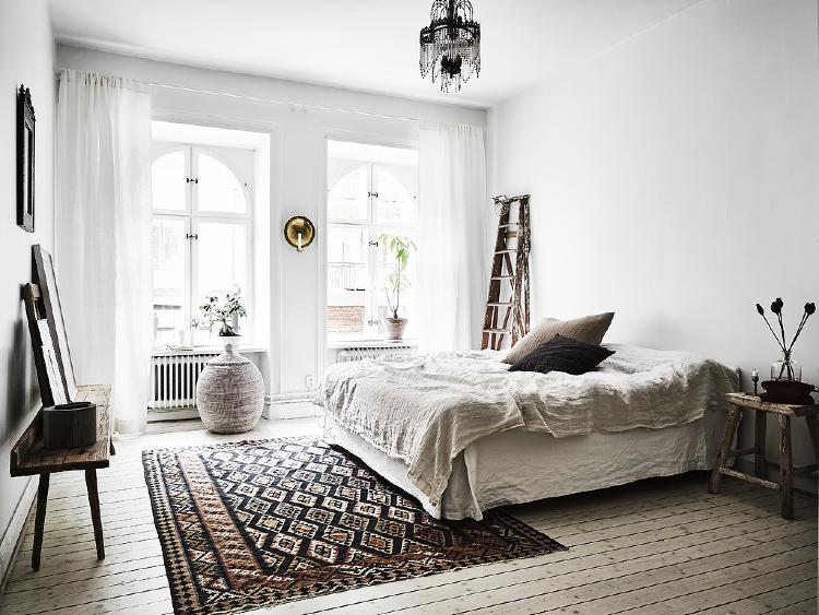 boho vintage bedroom decor