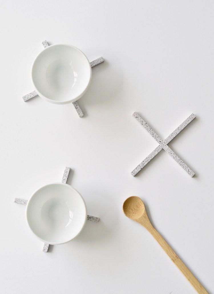 modern minimalist coasters to make