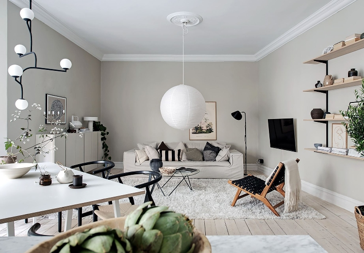 decorating with feature lighting living room