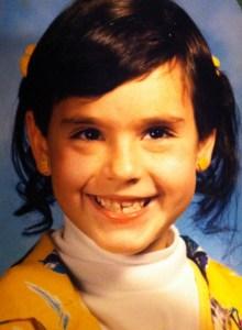 Jessica as a little girl