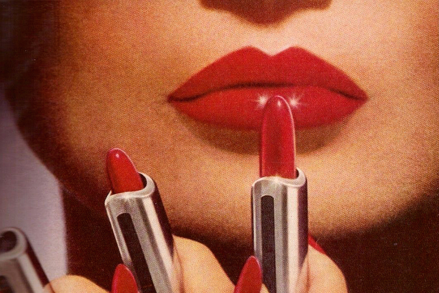 feminist history of red lipstick