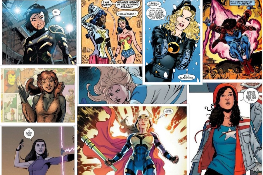 9 Female Superheroes You Never Heard Of