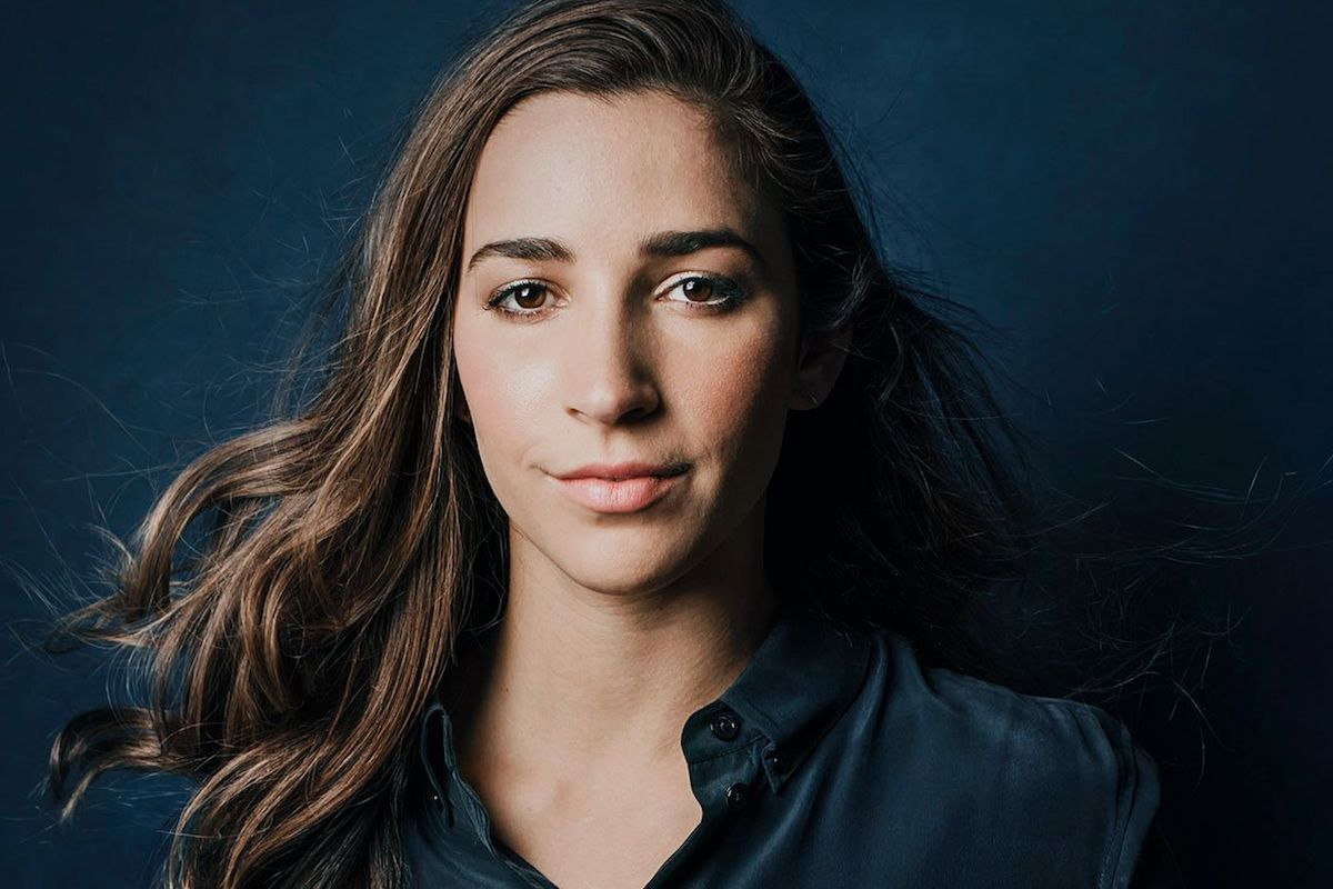 Aly Raisman – #WomenWhoLead: Powerful Women Changing the World