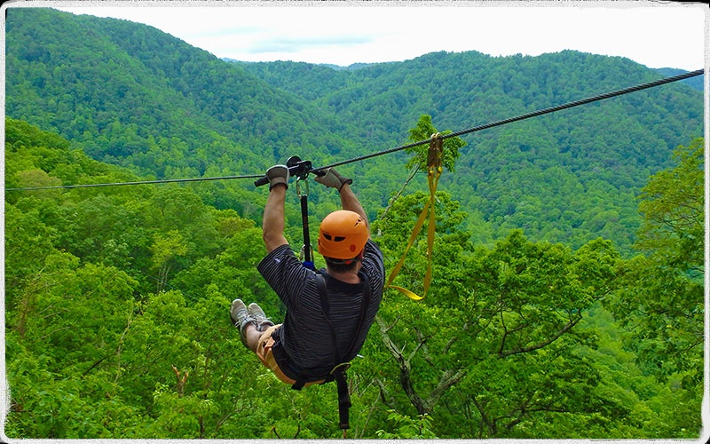 Image result for zip line ride pictures