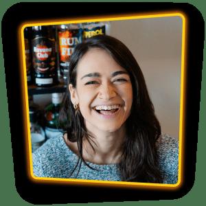 Bartender Julie Kunz
