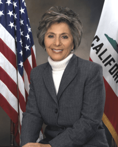 Barbara Boxer of the California Senate