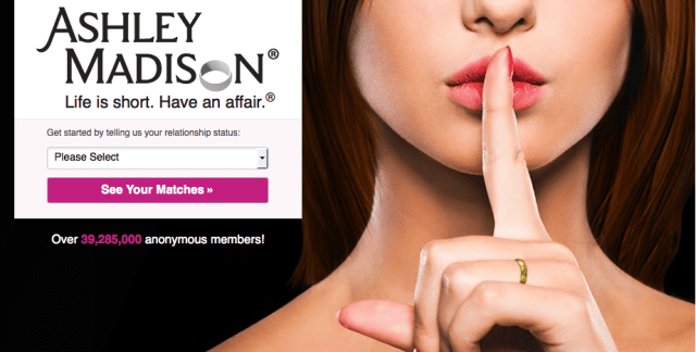 Ashley Madison Leak Includes Several Celebrities