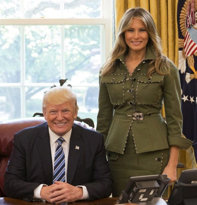 Democrats Are Lobbying Melania Trump to Have Sex With the President