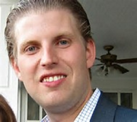 Eric Trump is Currently Locked in a Room That's Being Pumped Full of Pollution
