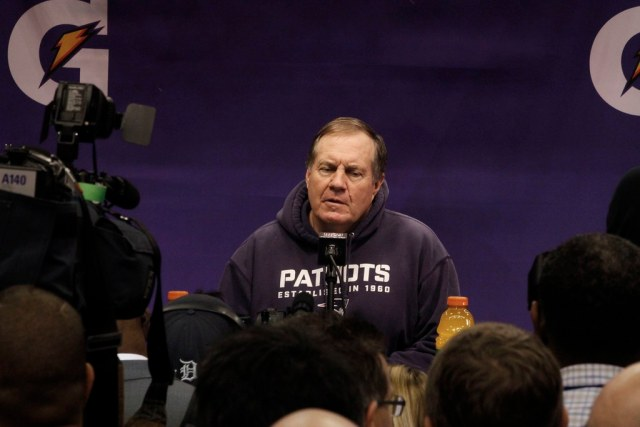 Gerbil in Bill Belichick's ass makes coach smile for first time in 37 years
