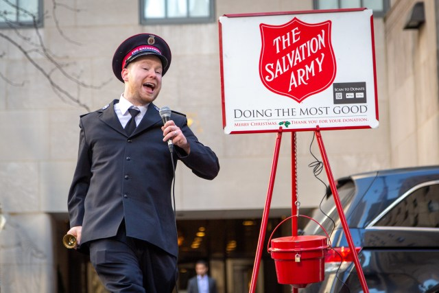 The Salvation Army says it's donating pocket anuses to the Catholic Church to curb pedophilia