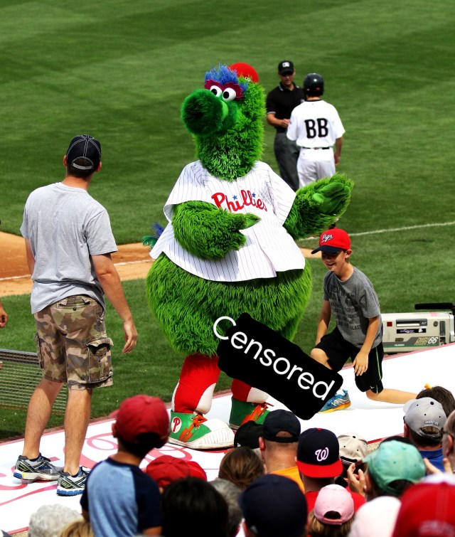 Phillies Add Giant Cock to Phanatic to Avoid Copyright Infringement