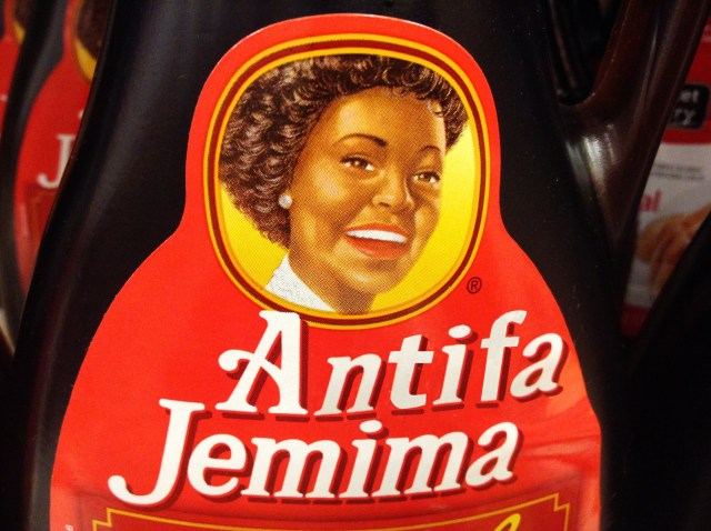 Aunt Jemima Officially Changes Its Name to 'Antifa Jemima'