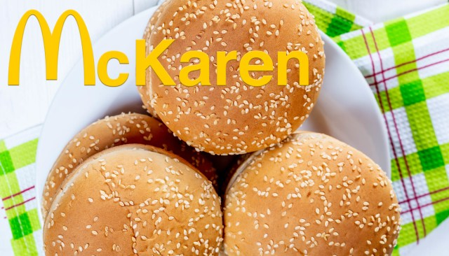 McDonald's Announces the All-New McKaren Sandwich
