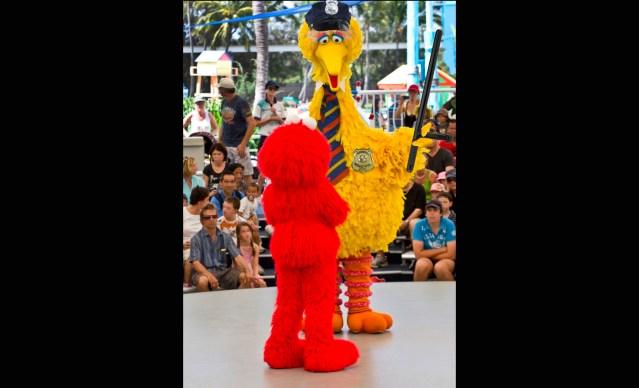 Raw: Big Bird Explains Racism to Kids by Beating Elmo Senseless on CNN Town Hall