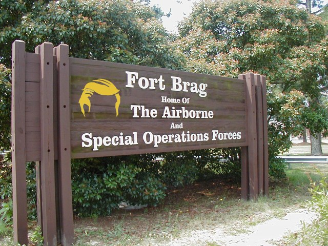 Name Change: Fort Bragg Drops Last 'G' in Honor of Donald Trump