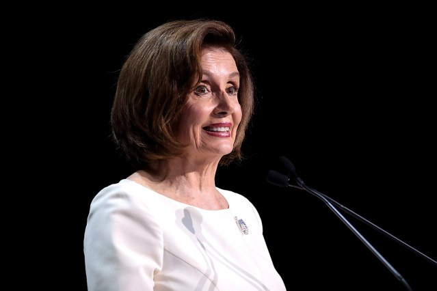Nancy Pelosi butthole waxed haircut blowout