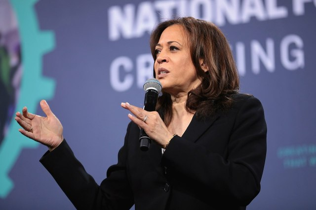 Kamala Harris Suspended As Vice President Due To Past Marijuana Usage