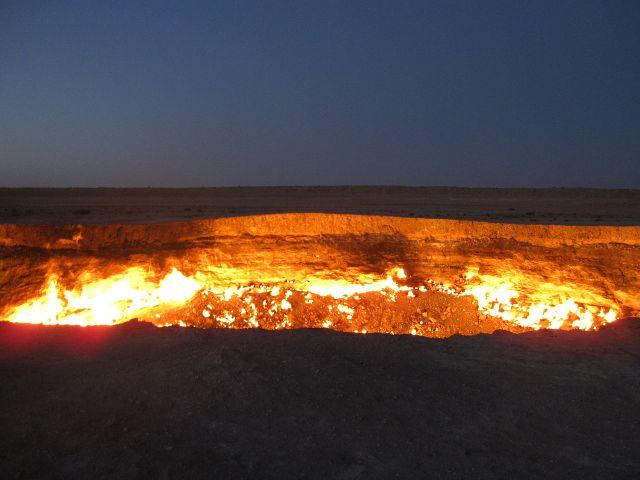 gates of hell close take donald rumsfeld heat wave