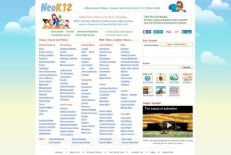 NeoK12 has many English video lesson plans