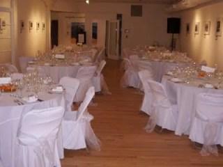 wedding venue table decor