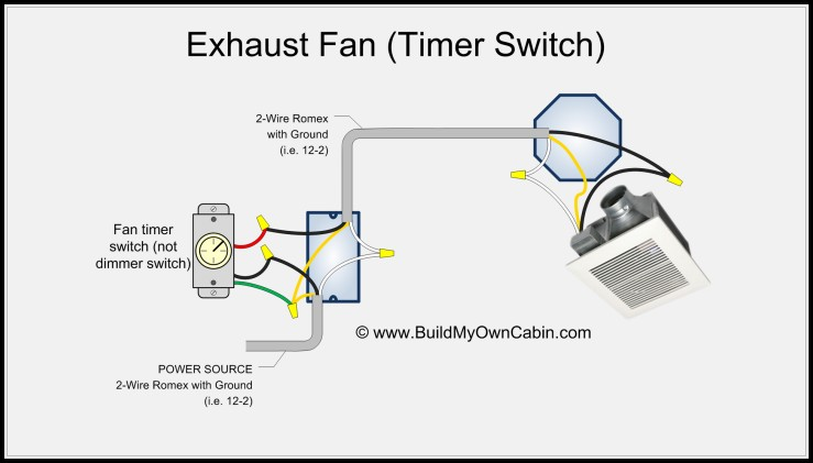 Bathroom Fan Timer Wiring