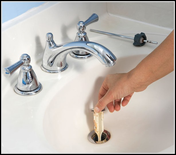 Bathroom Sink Drain Stopper Removal
