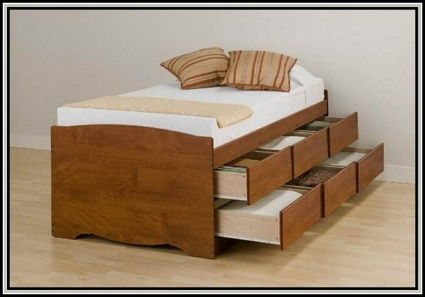 Bed With Drawers Underneath Single