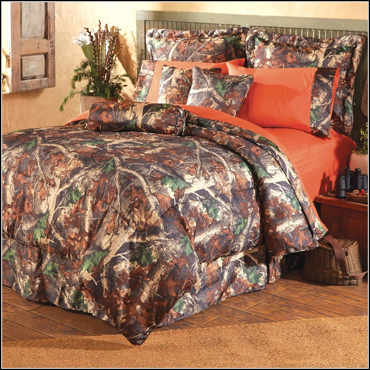 Camo Bedding Set For Crib