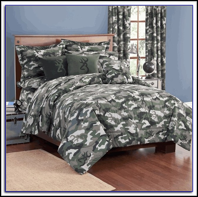 Camo Bedding Set Full