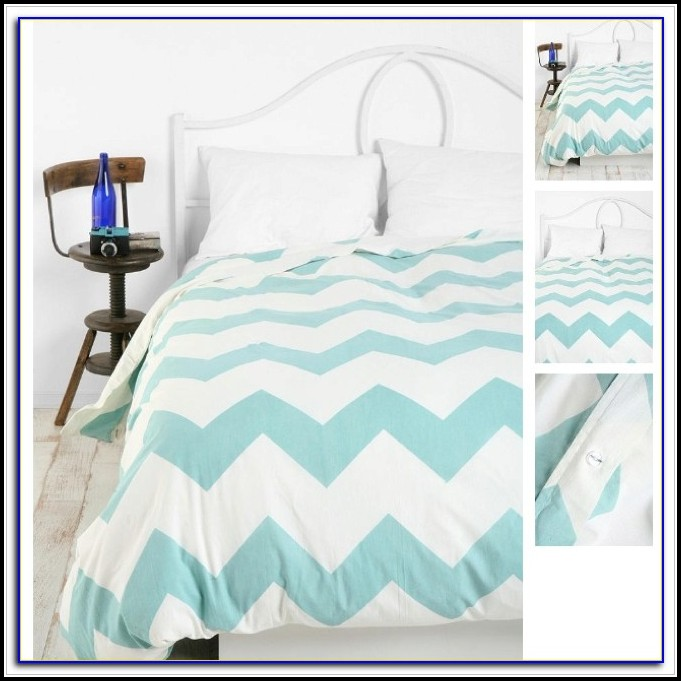 Coral Pink And Turquoise Bedding