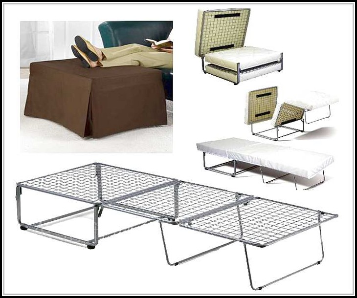 Fold Out Ottoman Bed Walmart