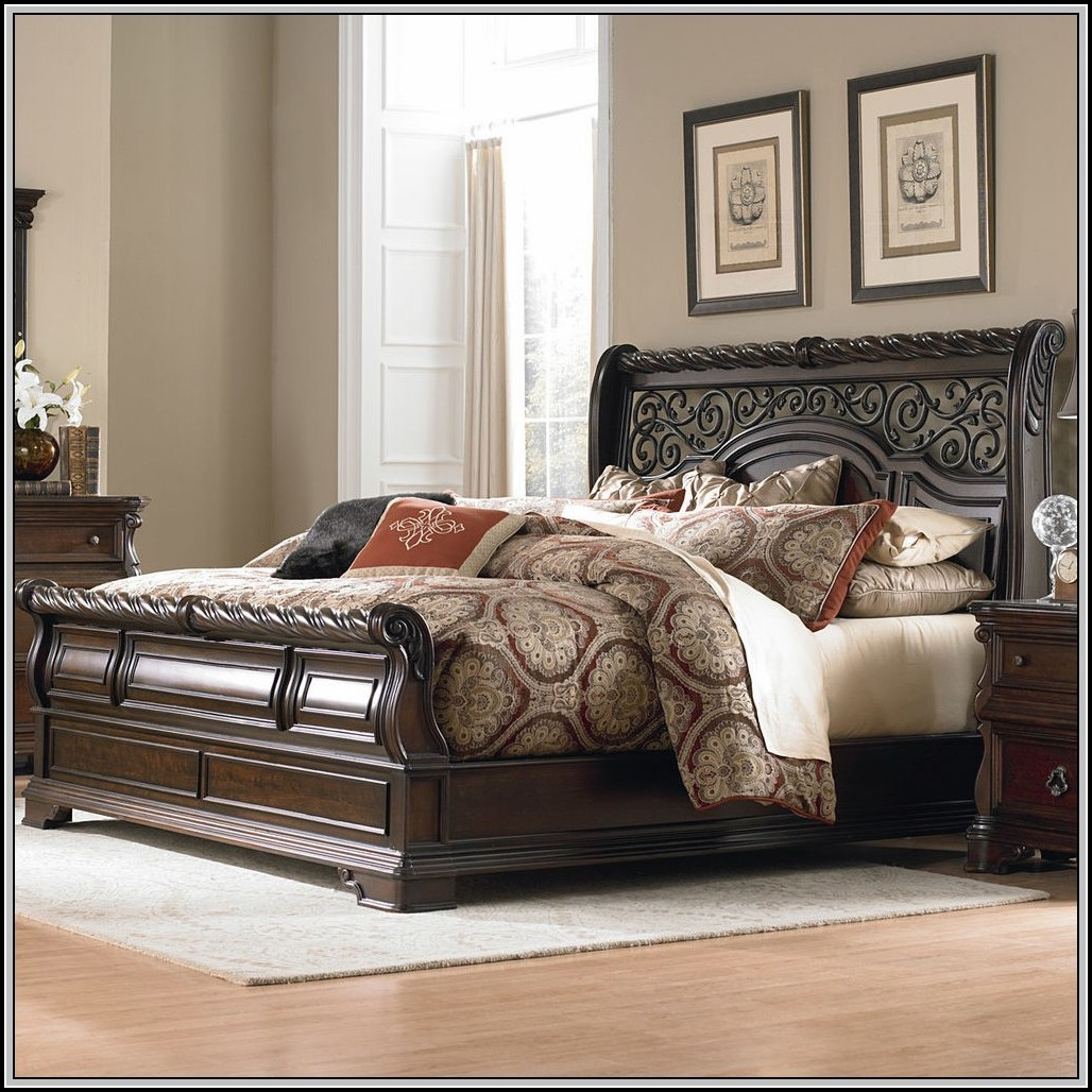 King Size Sleigh Bed Rails