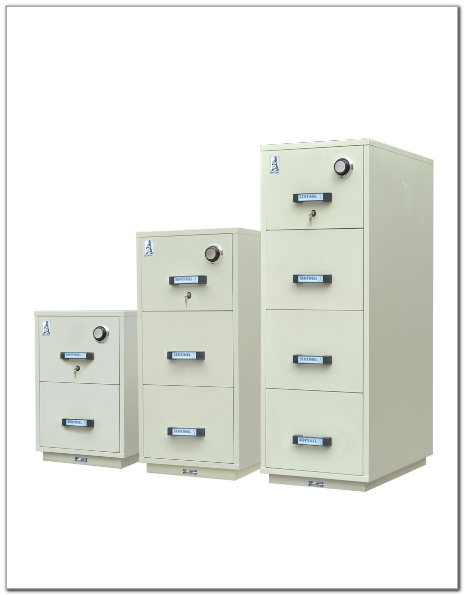 2 Drawer Fire Resistant File Cabinet