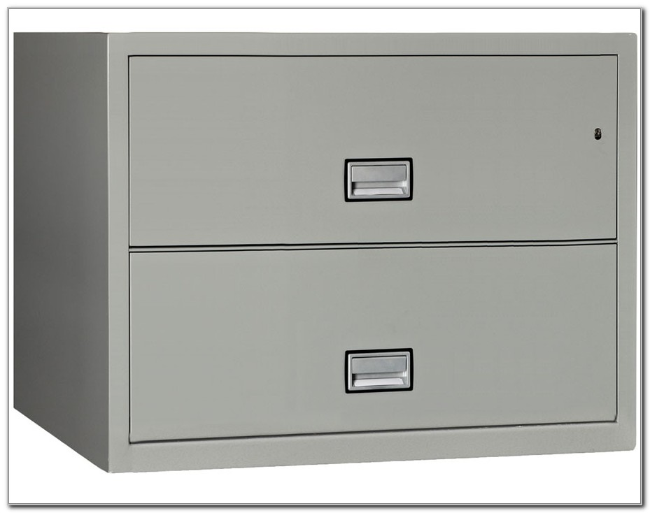 2 Drawer Fireproof File Cabinet