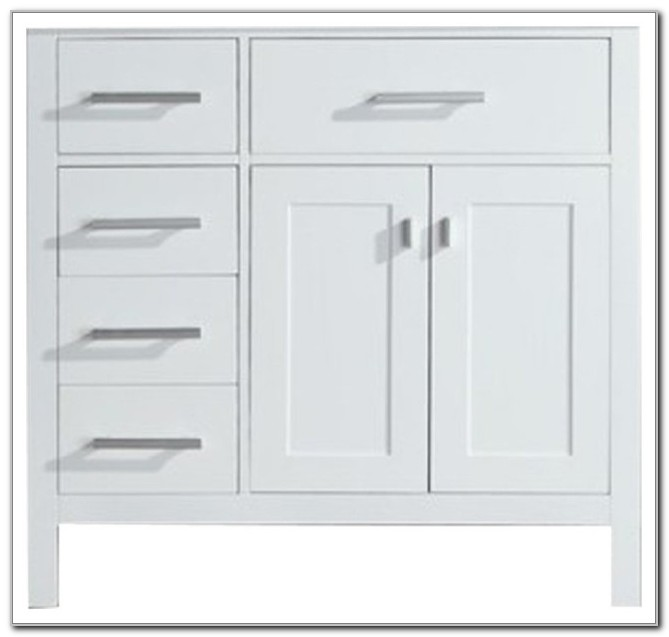 36 Bathroom Sink Base Cabinet