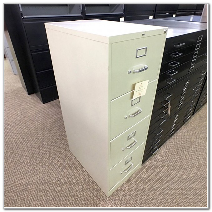 4 Drawer Vertical File Cabinet Used