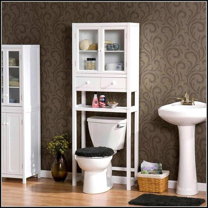 Bathroom Cabinets Over Toilet White