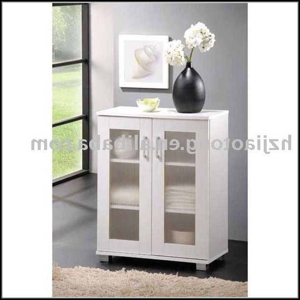Bathroom Floor Storage Cabinets White