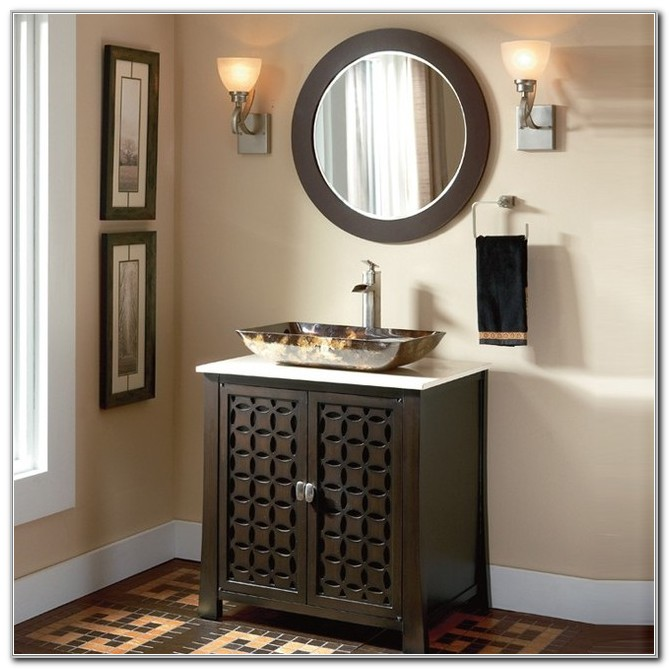 Bathroom Vanity Cabinets For Vessel Sinks
