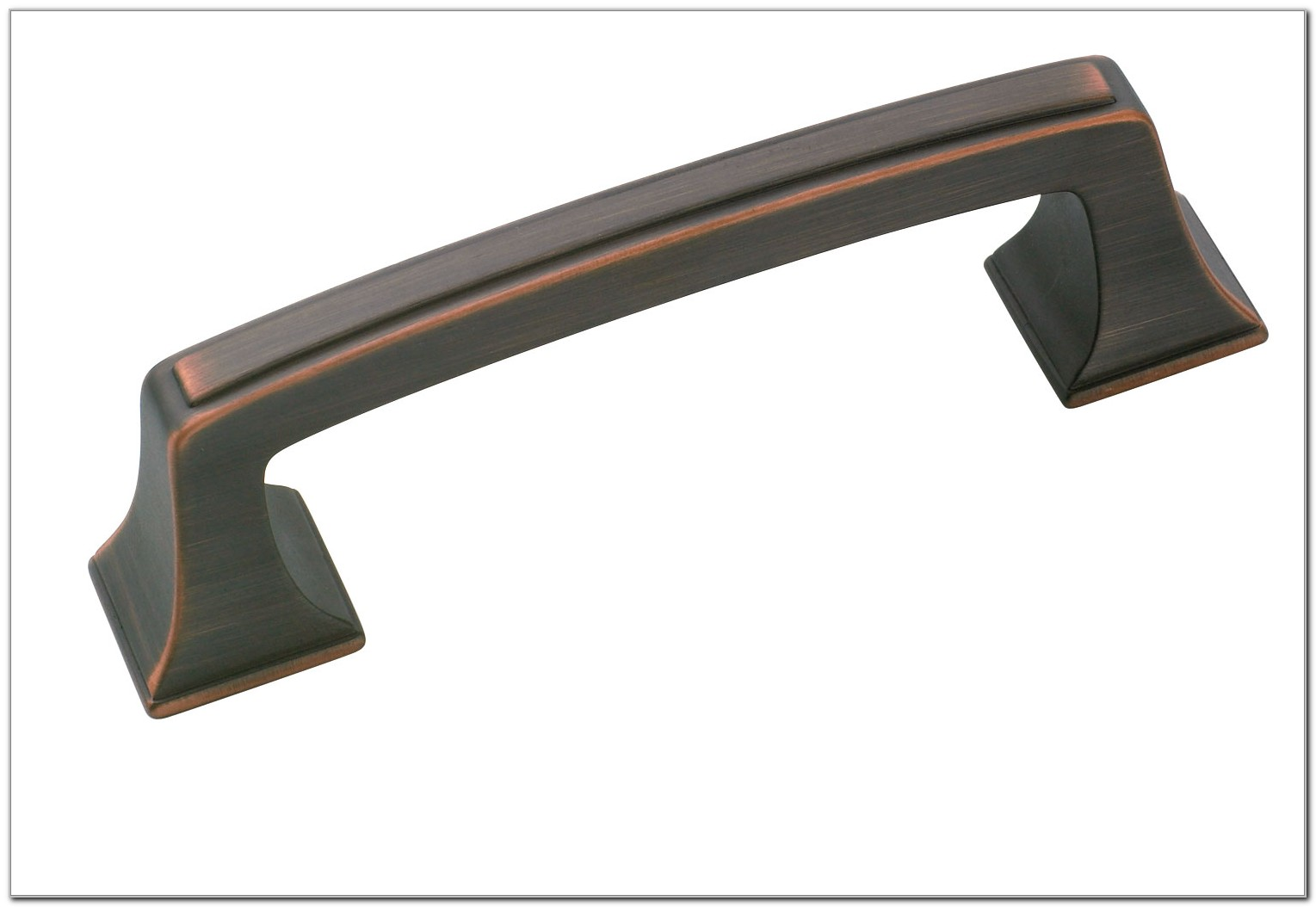 Bronze Cabinet Pulls With Backplates
