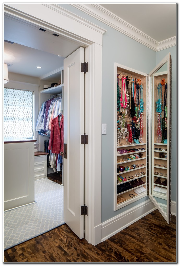 Built In Wall Jewelry Armoire