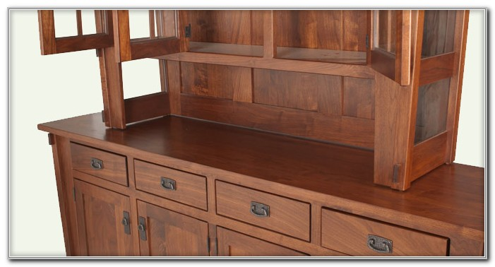 China Cabinet Hutch Plans
