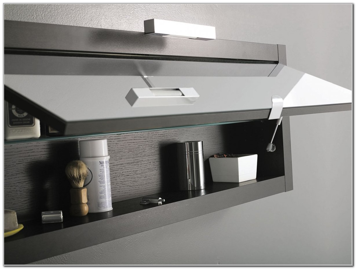 Contemporary Bathroom Wall Storage Cabinets