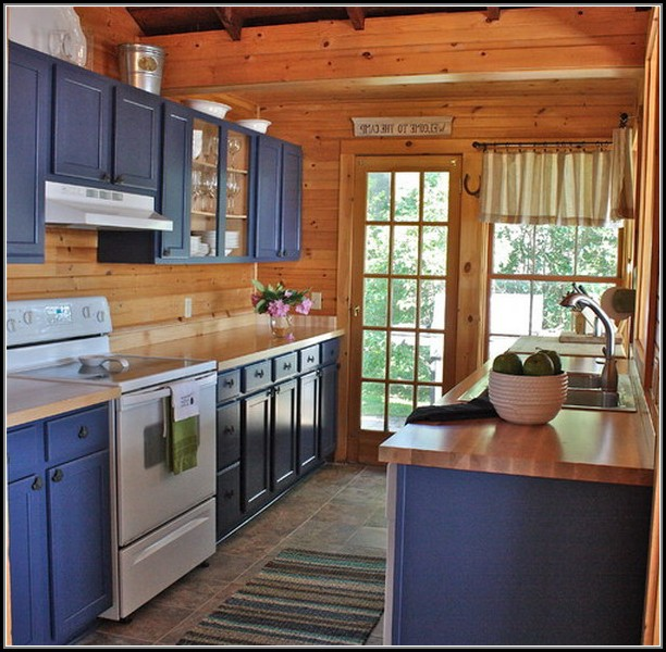 Cottage Kitchen Cabinets Refinishing Ideas
