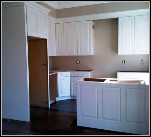 Crown Molding For Kitchen Cabinet Installation