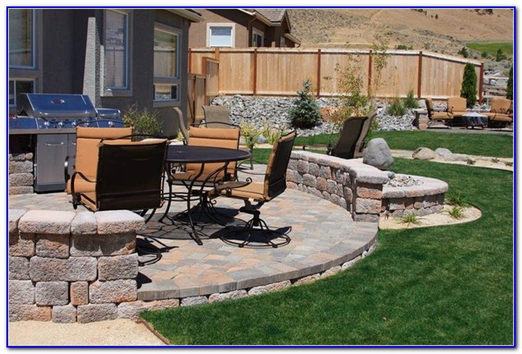 Deck And Paver Patio Designs