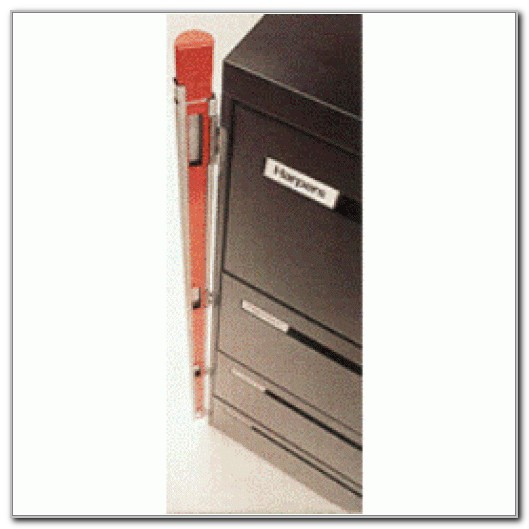 File Cabinet Locking Bar 4 Drawer