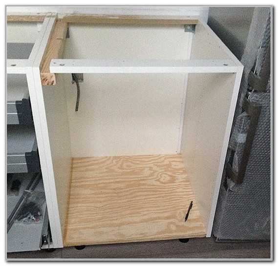 Free Standing Dishwasher Cabinet