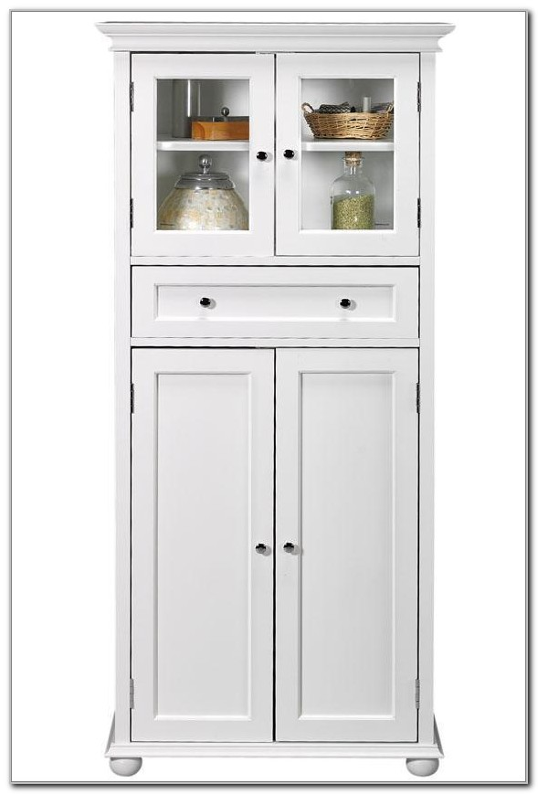 Hampton Bay Tall Linen Cabinet
